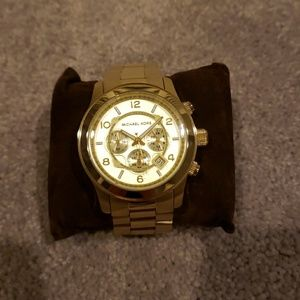 Michael Kors Gold Runway Watch